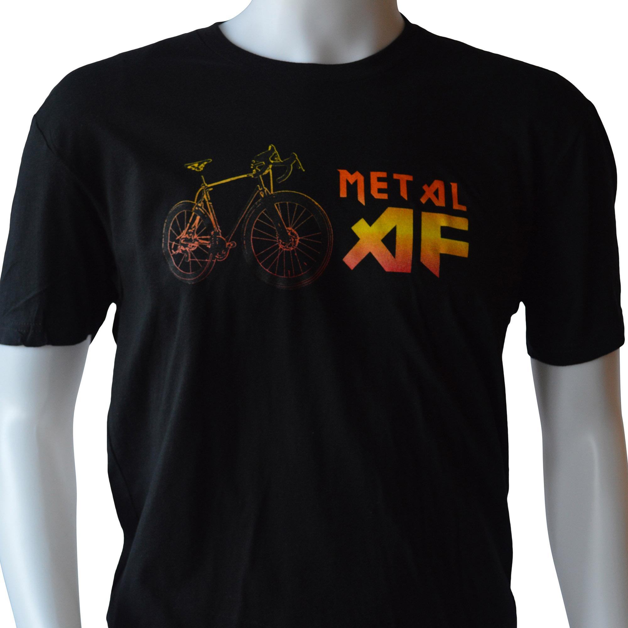 Alpha Bicycle Company Metal AF T-Shirt Front